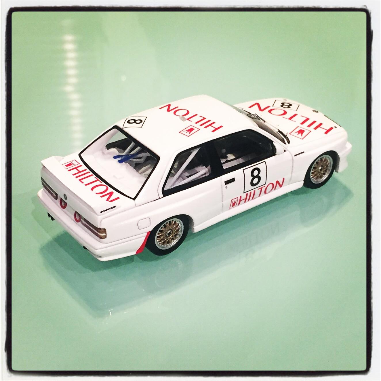 300 pcs. 1:43 Spark BMW M3 E30 #7 Macau GP Quester 1987 ltd
